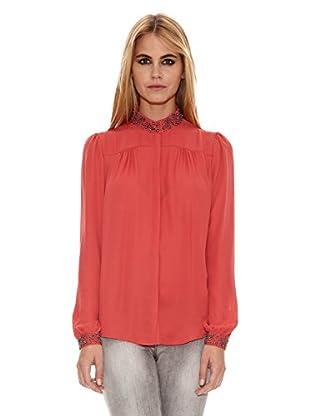 Pepe Jeans London Camisa Caroline (Naranja Oscuro)