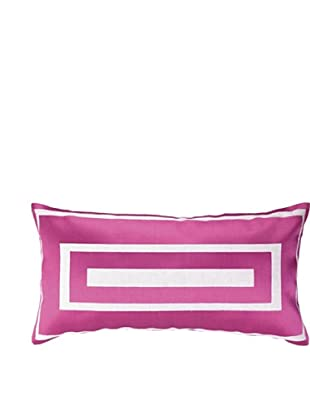 Jennifer Paganelli Hotel Monaco Embellished Down Pillow, Pink, 14