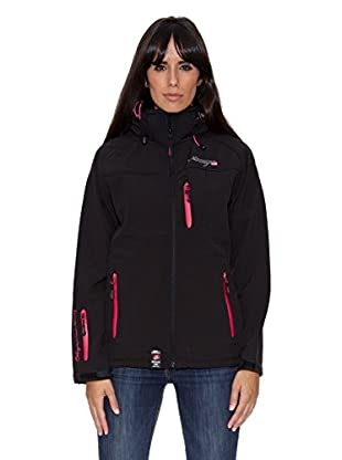 Geographical Norway Chaqueta Soft Shell Tonight (Negro)