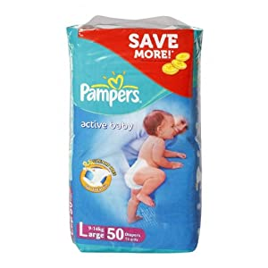 Pampers 1005106 Active Baby Diapers