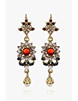 Alloy Earring With Malty Colour Stone NIKI Jewels