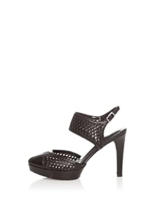 Rockport Zapatos Janae Dorsay (Negro)