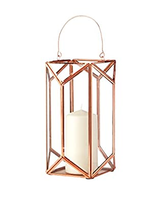 Shiraleah Small Scala Lantern, Copper