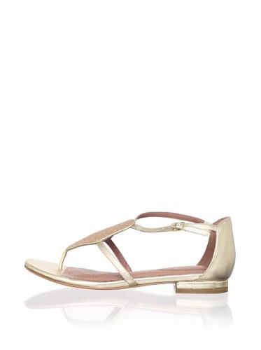 Corso Como Women's Soir Flat Sandal (Platinum/Platinum)