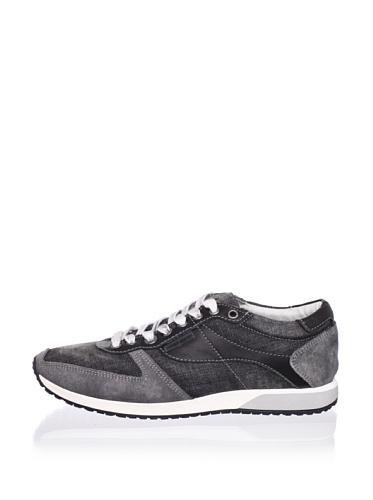 Antony Morato Men's Denim Sneaker (Black)