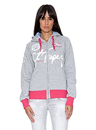 Geographical Norway Sudadera Grace Lady (Gris)