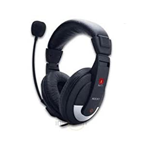 iball Rocky Headset Over-Ear Headphone with Mic