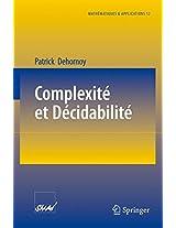 Complexité et Décidabilité (Mathématiques et Applications)