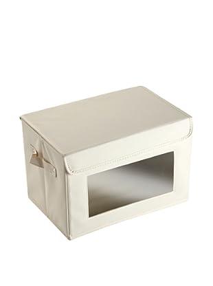 Zings Caja Mediana con ventana Beige