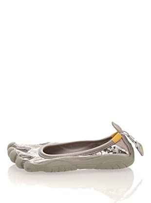 Vibram Fivefingers Slipper W105S Classic Paillettes (Silber/Grau)
