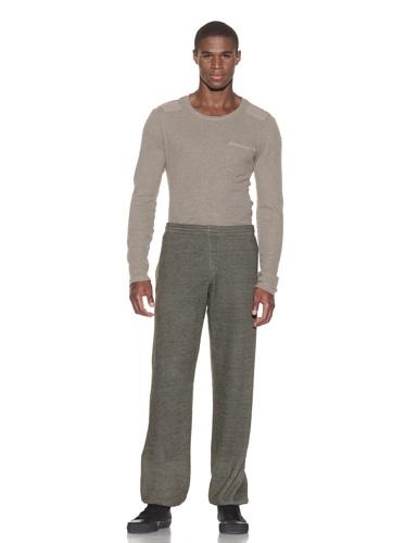 Gypsy 05 Men's Brushed Charcoal Basic Pant (Olive)