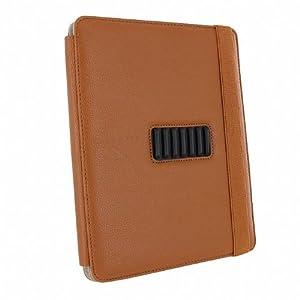 【クリックで詳細表示】Case-Mate 日本正規品 iPad 2 Versant Leather Folio Stand Case With Hand-Strap, Brown スタンド機能・ハンドストラップつき ブックタイプ レザー調ケース「Versant」 ブラウン CM013828