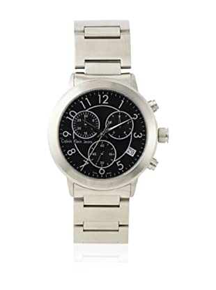 Calvin Klein Jeans Men's Continual Chronograph Stainless Steel Watch