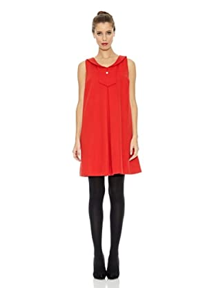Trakabarraka Vestido Solapa Simona (Rojo)