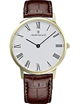 Claude Bernard Classics Analogue White Dial Men's Watch - 20061 37M BR