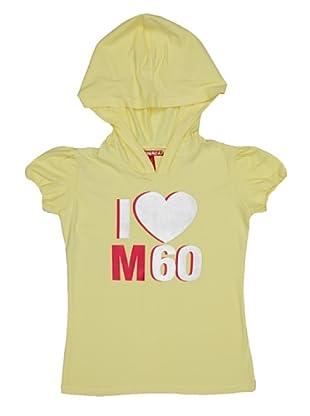 Miss Sixty Kids Camiseta I Love (Amarillo)