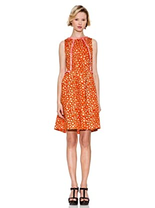 Tonalá Vestido Macarena (Naranja)