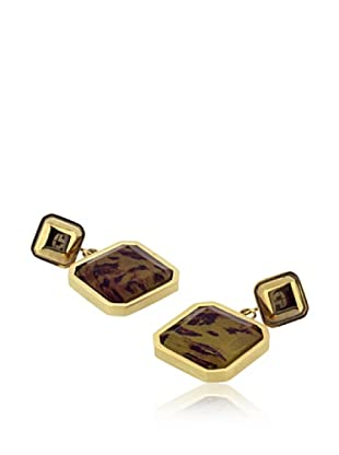 TIME FORCE Pendientes TS5122PLE Dorado/Leopardo