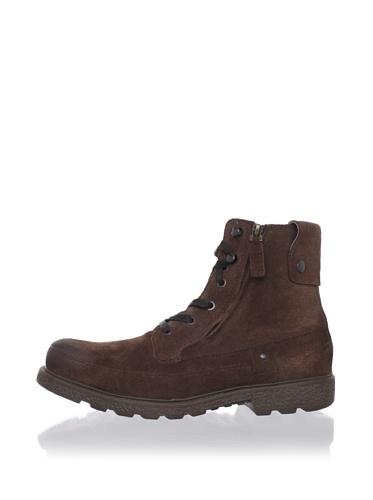 Robert Wayne Men's Granger Ankle Boot (Brown Suede)