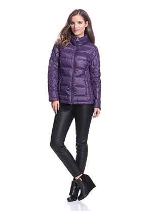 Calvin Klein Women's Down Jacket (Vintage Purple)