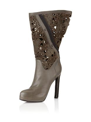 Haider Ackerman Women's Filigree Boots, Anthracite (Anthracite)