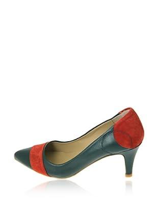Pierre Cardin Zapatos Salón Adonia (Azul / Rojo)