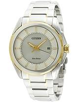 Citizen Eco-Drive Analog White Dial Men's Watch - BM6725-56A