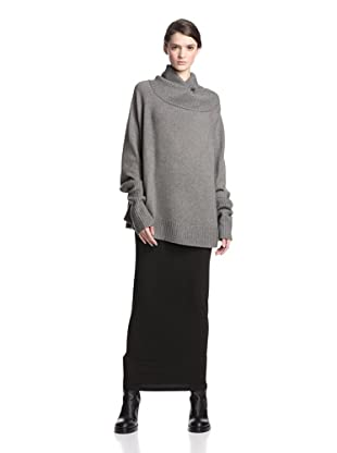 Ann Demeulemeester Women's Saide Oversize Sweater (Pearl)