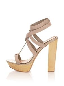 Mark + James Women's Paxton Platform Sandal (Grey)