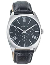 Titan GCLSQ Multi-Function Analog Black Dial Men's Watch - 9476SL01J