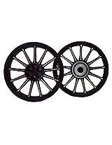 Royal Enfield Alloy Wheels For Bullet Standard -350 -Black