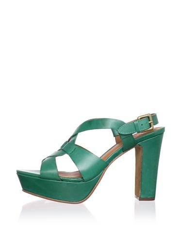 Ash Women's Cindy Platform Sandal (Emerald)