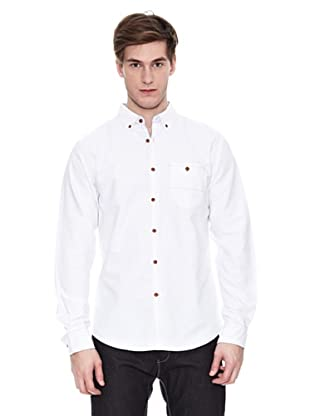 Springfield Camisa Sport Vc Solid Trend (Blanco)