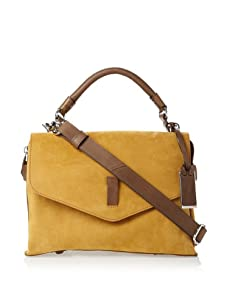 Gryson Women's Ruby Belted Top Handle Messenger (Warm Brown)