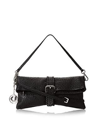Charles Jourdan Women's Jezebel Convertible Cross-Body Clutch, Black