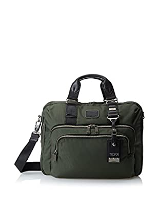 TUMI Alpha Bravo Yuma Slim Brief, Spruce