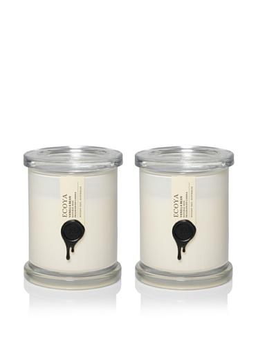 Ecoya Set of 2 Vanilla Bean 9.5-oz. Metro Jars