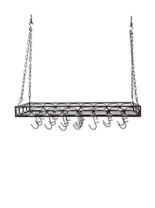 Old Dutch International 16-Hook Medium-Gauge Rectangular Hanging Pot Rack