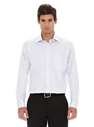 Turrau Camisa Vestir Microdibujo (Gris)