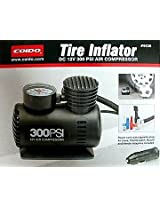 Coido 6526 12V Electric Car Tyre Inflator and Air Compressor Pump