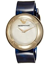 Emporio Armani Analog Mother of Pearl Dial Women's Watch - AR7384