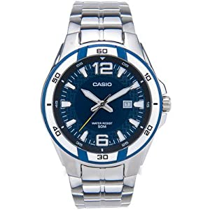 Casio Enticer Analog Blue Dial Women's Watch - MTP-1305D-3AVDF (A517)