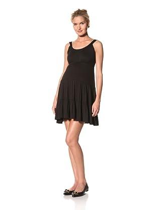 Lilac Maternity Jana Dress (Black)