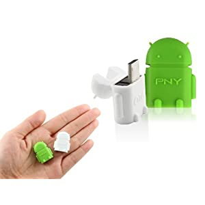 PNY A2 OTG Adapter Micro USB OTG to USB 2.0 Adapter for Smartphones & Tablets