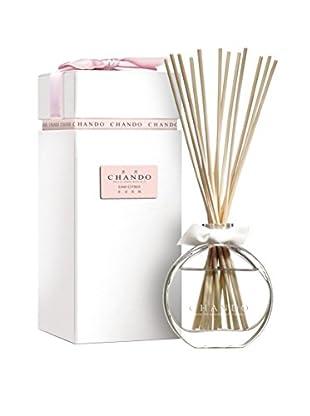 CHANDO Aromatic Reed Diffuser with 2.7-Oz. Fresh Gardenia Fragrance