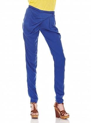 Salsa Pantalón Baggy Hebilla (Azul)
