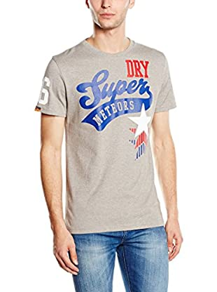 Superdry T-Shirt Manica Corta Meteors Athletic-Stars