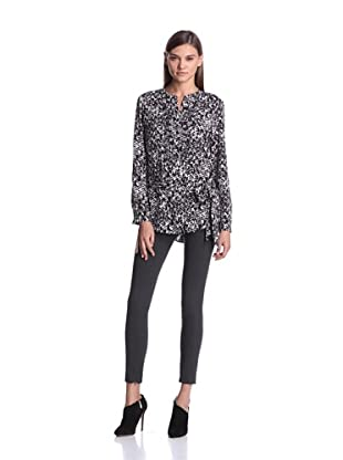 Calvin Klein Women's Belted Tunic (Black Combo)
