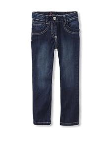 KANZ Girl's Straight Leg Jeans (Denim)