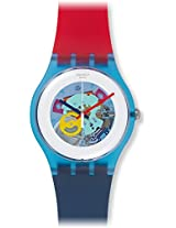 Swatch Unisex SUOS101 Originals Multicolor Watch